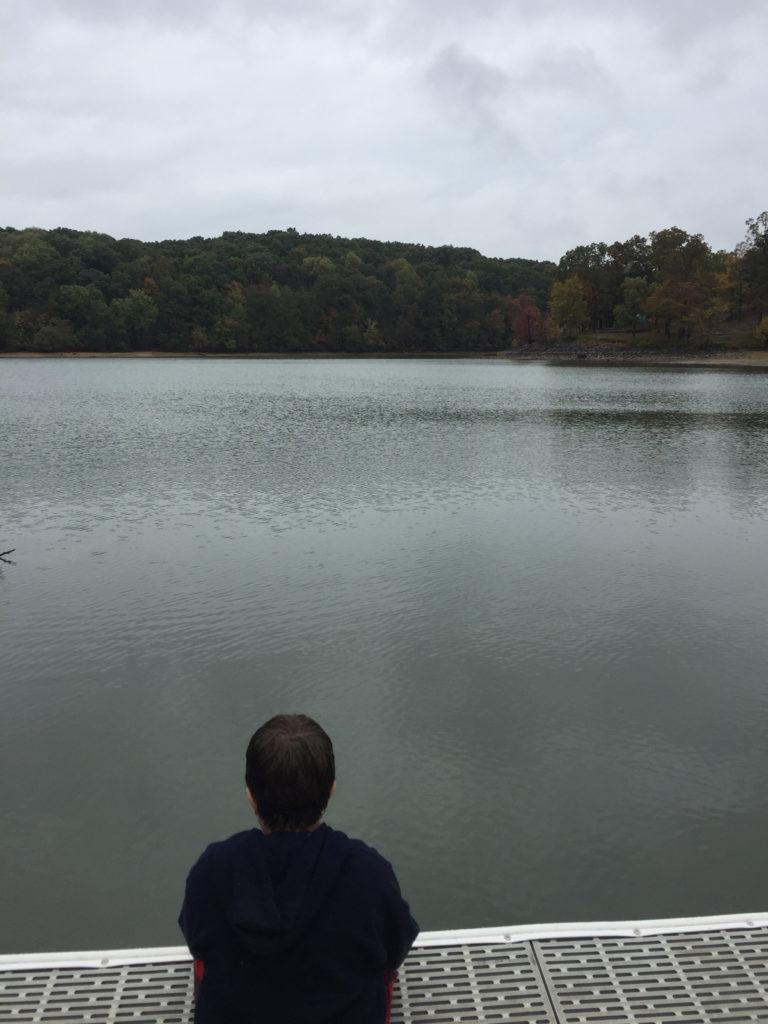 Take a Kid Fishing. Fishing at Kentucky Lake.