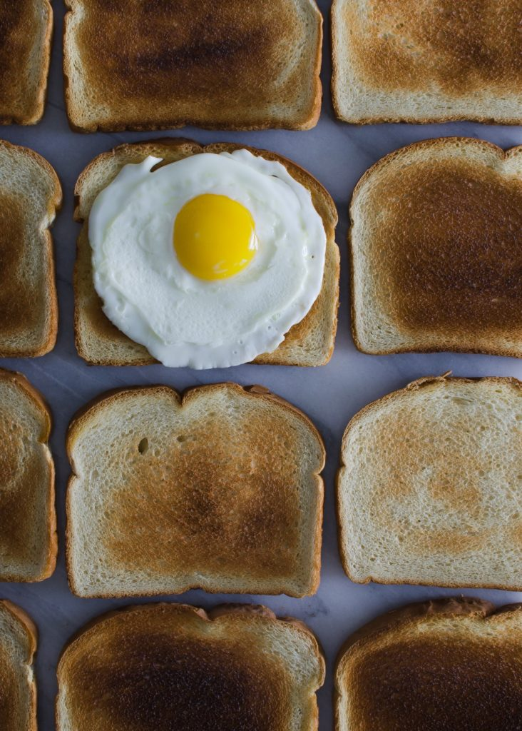 burnt toast : just make another slice