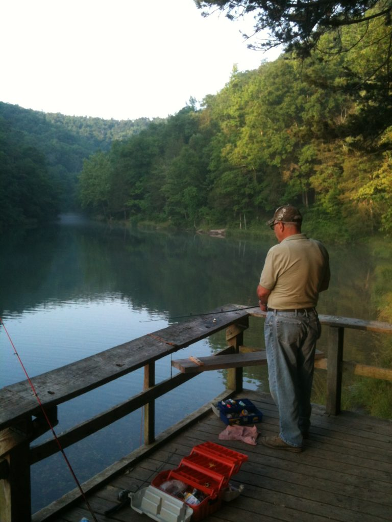 Fishing Trip Essentials - Mirror Lake with my dad